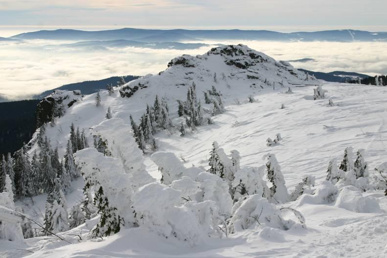 Sinnliche Winterlandschaft